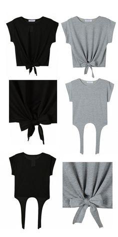 Một cách khác để làm mới chiếc áo thun basic của bạn: