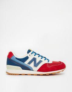 separation shoes 40e5d 706d8 New Balance Trainers, New Balance 996, Blue Trainers, Suede Trainers, Blue  Sneakers