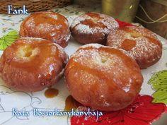 Fánk (Gluténmentesen is! Bagel, Doughnut, Muffin, Gluten Free, Bread, Breakfast, Food, Glutenfree, Morning Coffee