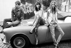 #fashion #monochrome #retro