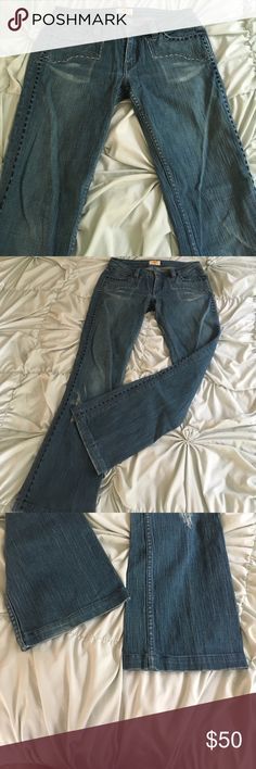 """Antik Denim Jeans Gorgeous Antik Denim jeans! Like new! Bought from another Posher, but were too short for me. Inseam is 29"""" Made in USA! Antik Denim Jeans Boot Cut"""