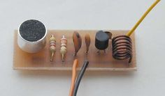 In the spy game? This micro transmitter bug has a 30m range! http://electronics-diy.com/micro-transmitter-bug.php