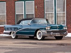 1958 Buick Limited Check out the white walls