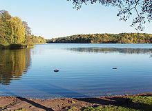 Kottlasjön, min hemmabadsjö. Lika vacker sommartid som vintertid när isen ligger tjock.