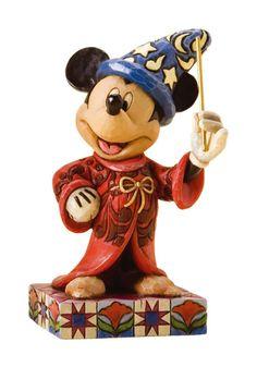 Enesco Disney Tradition - Figurillas magia de Mickey Mouse, de resina, altura de 11 cm, multicolor: Amazon.es: Hogar