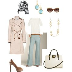 gathering ideas for a work wardrobe on a budget