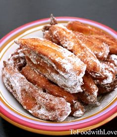 food processor method! YAY! To Food with Love: Churros from Heaven!