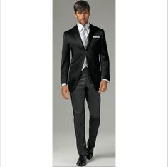 The Groom Suits Autumn/Spring Winter Standard Plus Size Black Wedding Men Suit Modern Hote Tuxedos Gentleman 03 Formal Trousers Mens Mens Black Clothing From Water_dream, $105.76| Dhgate.Com