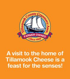 Loved the tour of Tillamook Cheese Factory (not to mention tasting the cheese)