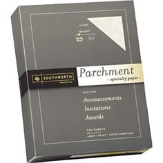 Southworth-Parchment-Specialty-Paper-Letter-Linen-Finish-Ivory