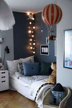 Ideas Kids Room Paint Ideas For Girls Boy Decor, Boys Room Decor, Blue Bedroom, Bedroom Wall, Bedroom Furniture, Furniture Sets, Kids Room Lighting, Kids Bedroom Sets, Bedroom Ideas