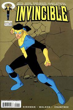 Invincible Mark Grayson | Invincible - Comic Book Series Wiki - Comics Books