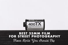 Best 35mm Film for Street Photography - I share 3 of my favourites and the settings I use.