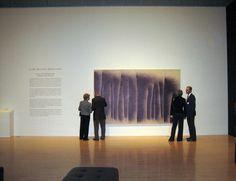 IL Lee, ballpoint on canvas, sanjose museum of art, art projects international, new york.