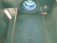 Tadelakt Moroccan style plaster shower cubicle