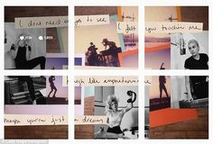 Putting pen to paper: She also shared a creative collage featuring some of the…