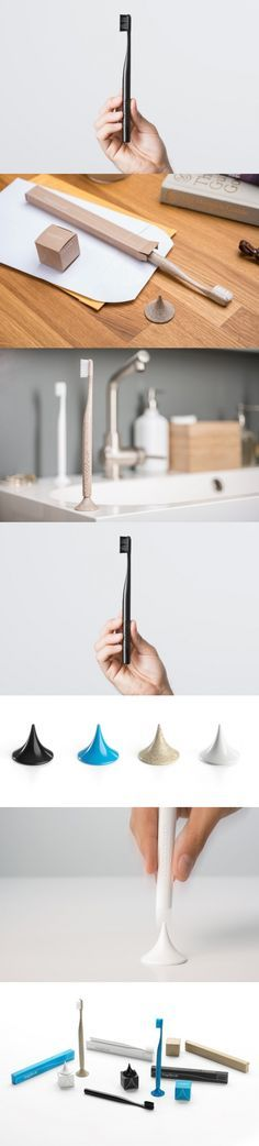 Anyone remember Bogobrush from three years ago? The company changed the dental hygiene game with a toothbrush that was completely biodegradable. They're now back with a more refined design and a social mission. For each toothbrush purchased, one toothbrush would be given free to a person in need. They've termed this as the Buy One Give One movement, and they have donated more than 2,000 brushes so far. #Brush #Bathroom #Design #YankoDesign