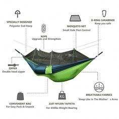 Camp Sleeping Gear Cheap Price Portable Outdoor Sleeping Bag Mosquito Net Parachute Hammock Camping Hanging Sleeping Swing Bed Travel Hiking Equiment Providing Amenities For The People; Making Life Easier For The Population Sleeping Bags