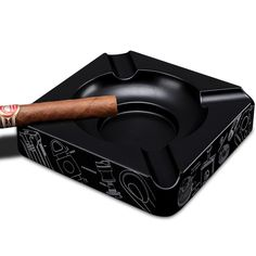 High Quality Scratch-resistant Titanium Cigar Ashtray