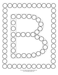 J'ai trouvé sur un site anglais des fiches alphabets que mes petits et moyens utilisent en ateliers de manipulations autonomes pour un... Art Activities For Kids, Preschool Lessons, Alphabet Activities, Math For Kids, Preschool Activities, Maze Worksheet, Fun Worksheets, Recycling Projects For Kids, Dot Letters