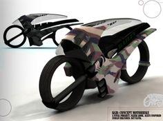 Futuristic Bike, Speed Racer, Futuristic Motorcycle, Dan Bailey,  Alien, Future Vehicle, Kawasaki Ninja, futuristic motorbike by FuturisticNews.com