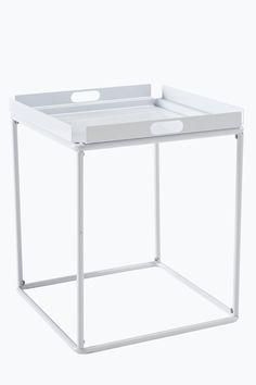 Box-tarjotinpöytä 37x37 cm