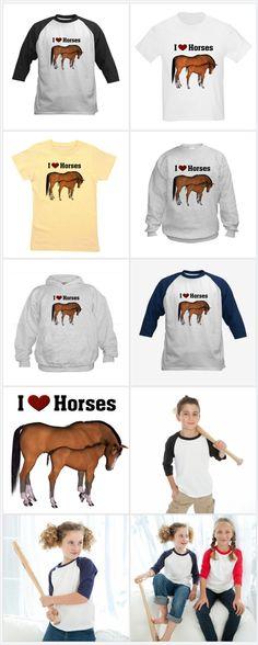 Love My Horse Tee @thehorsediva http://www.cafepress.com/mf/17146938/love-my-horse_baseball-jersey?productId=261188354#color=navy/white
