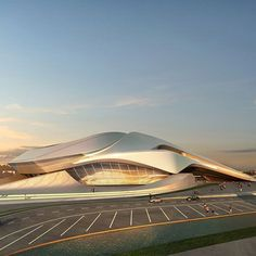 Grand Theatre by Zaha Hadid Architects