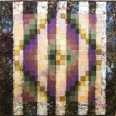 Susan Stein and surface design techniques in art quilts ~ Fiber Art Almanac