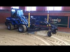 Niveleuse laser avec MultiOne Laser, Monster Trucks, Vehicles, Tractor, Thanks, Places, Rolling Stock, Vehicle, Tools