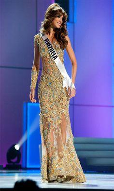 Vanessa Goncalves in Miss Universe 2010 in Brazil
