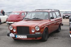 """A muscular looking Volvo """"165"""". Looks good."""