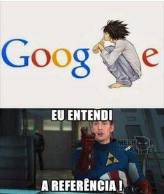 kkkkk aí Jesus Funny Spanish Memes, Spanish Humor, Funny Memes, Death Note I, Otaku Meme, Geek Humor, Noragami, Fujoshi, Best Memes