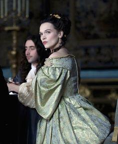 Anna Brewster as the Marquise de Montespan in Versailles (TV Series, 2015). [x]