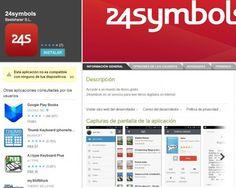 #24symbols, para leer #libros digitales, ya tiene aplicación para #Android