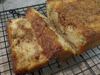 Carbquik cinnamon loaf - low carb - keto