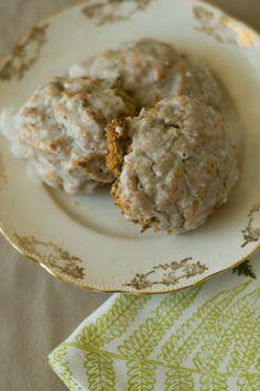 Zucchini Scones (see also the recipe with a sour cream glaze)