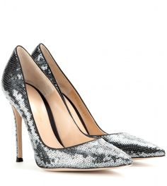 Gianvito Rossi Sequinned pumps on shopstyle.com
