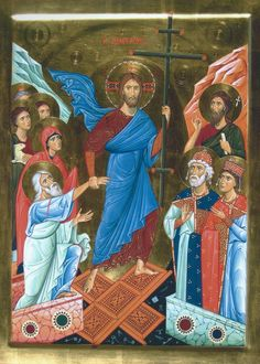 Christ Is Risen, Jesus Christ, Life Of Christ, Byzantine Icons, Religious Icons, Orthodox Icons, Ikon, Archaeology, Christianity
