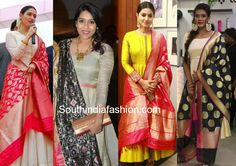Do You Have These Interesting Dupattas In Your Wardrobe? Anarkali Tops, Anarkali Suits, Latest Dress Design, Fancy Suit, Ethnic Outfits, Banarasi Sarees, Asian Style, Simple Outfits, Western Wear