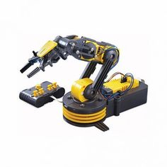 Wth Robotic Arm Edge, command the gripper to open and close, wrist motion of 120 degrees, an extensive elbow range of 300 degrees, base rotation of 270 degrees, base motion of 180  degrees, vertical reach of 15 inches, horizontal reach of 12.6 inches, and lifting capacity of 100g.