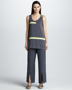 Silk Pull-On Pants by Lisa Todd at Neiman Marcus Last Call.