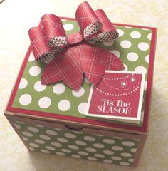 Valentine Red Large Gift Boxes Illusion Xmas Big Christmas Gift Box Birthday