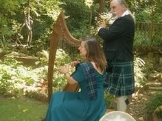 Some couples may be considering a Celtic thermed wedding - especially as St. Patrick's Day approaches. Listen to some Celtic music here.   SNEDDON & SNEDDON Flute and Harp