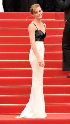 Emma Watson in Chanel Couture at Cannes, 2013