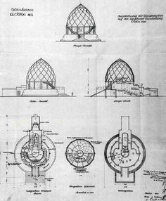 Glass pavilion by Bruno Taut #architecture = BRUNO TAUT - Cologne, Werkbund Ausstellung - 1914