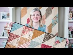 Fat Eighth Frenzy: Free Quilt Pattern with Fat Quarter Shop - The Jolly Jabber Quilting Blog