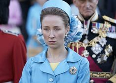 Princess Anne Responds to 'The Crown' Actress Who Claims Her Famous Updo Takes 'Two Hours' #purewow #entertainment #news #princess anne #hair #beauty #the crown