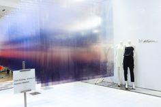 installation by artist nobuhiro nakanishi at saks fifth avenue