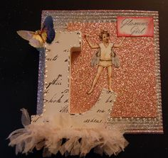 This month Gecko Galz got their sparkle on which inspired me to do a little card making and crafting that also has some sparkle and shin!   ...